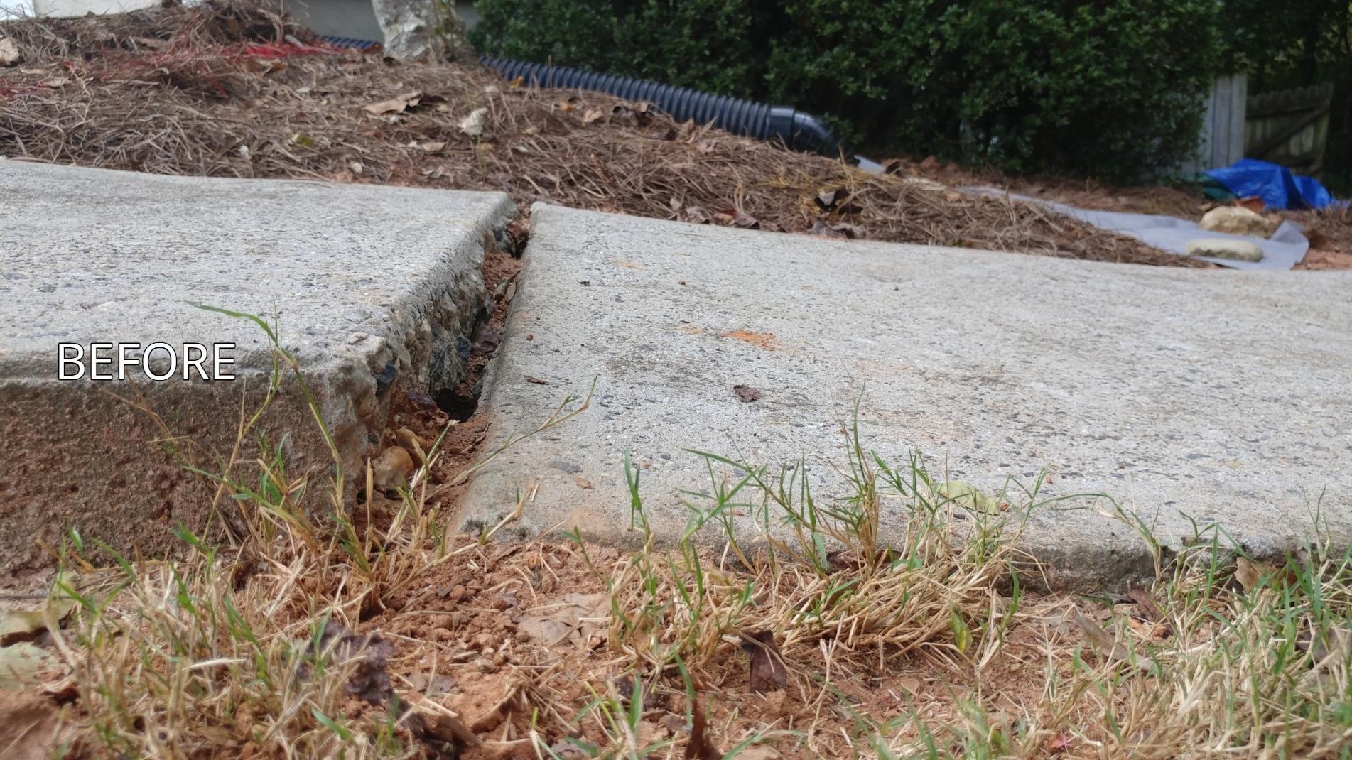 Concrete Leveling Located in Gainesville | Lift It Rite